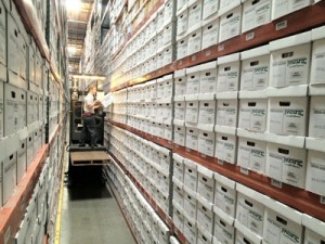 Records Storage Racks